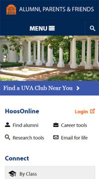University of Virginia Alumni Association & Office of Engagement